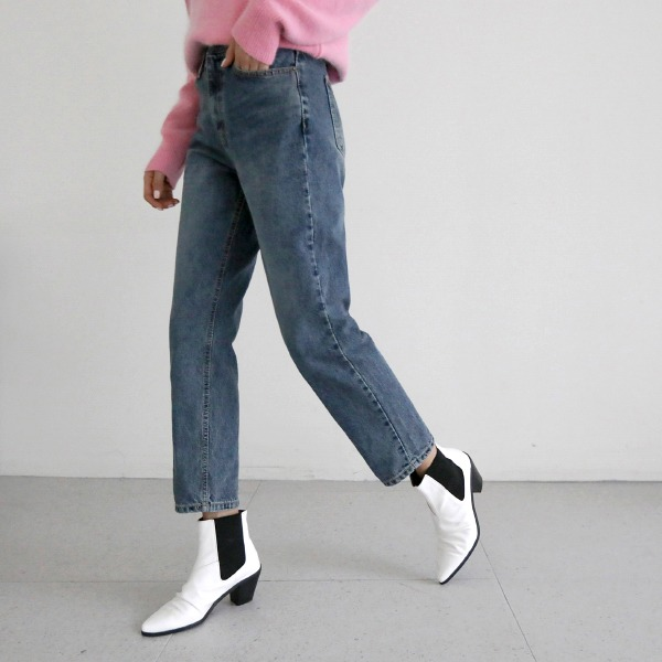 wood denim-pants