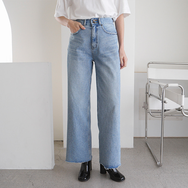 snap denim-pants