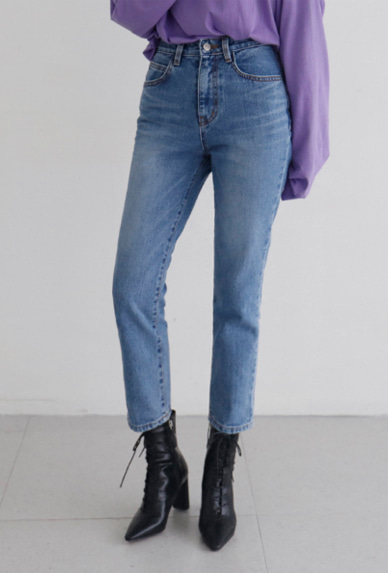 farmer denim-pants