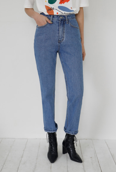 heidi denim-pants