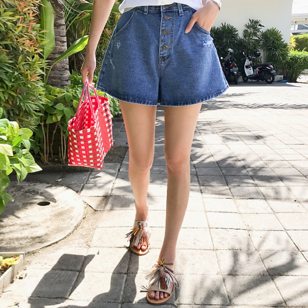 toy denim-shorts