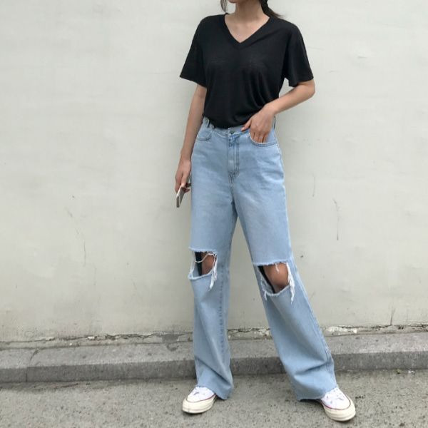 roof denim-pants