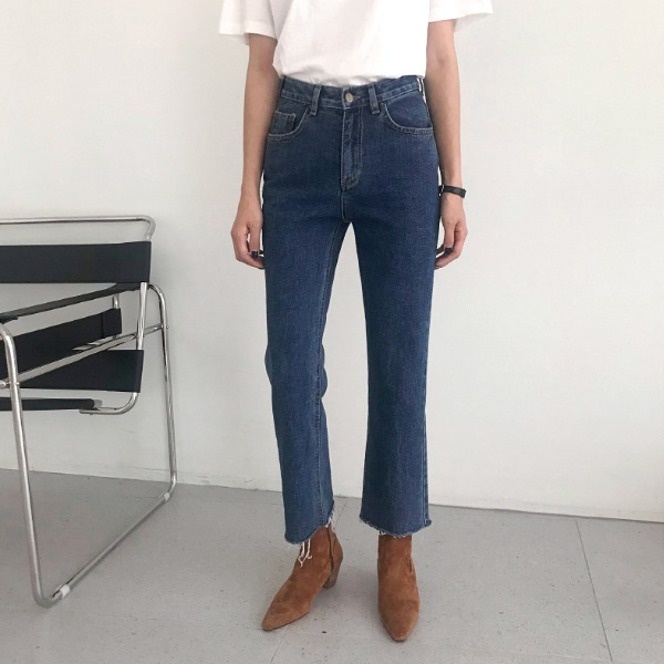 fake denim-pants
